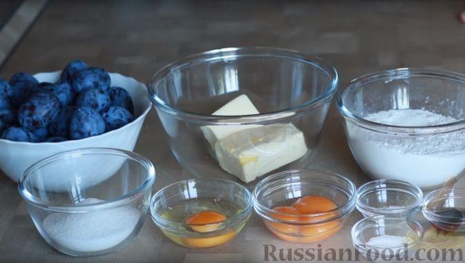 Фото приготовления рецепта: Бретонский пирог со сливами - шаг №1