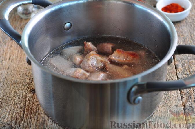 Рецепт плова из свинины пошагово в казане