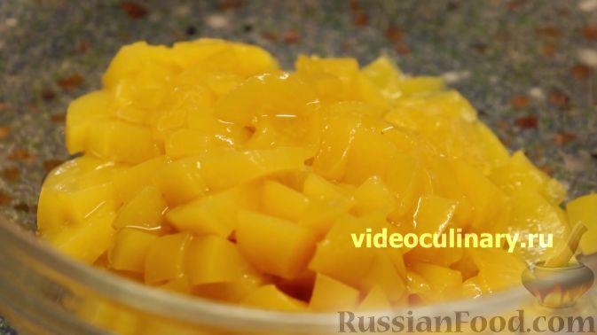 Фото приготовления рецепта: Курица в персиковой глазури - шаг №2
