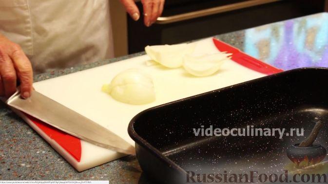 Фото приготовления рецепта: Курица в персиковой глазури - шаг №5