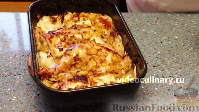 Фото приготовления рецепта: Курица в персиковой глазури - шаг №7