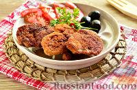 Фото к рецепту: Шницели из куриной печени