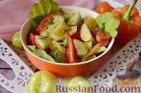 Фото к рецепту: Салат с физалисом