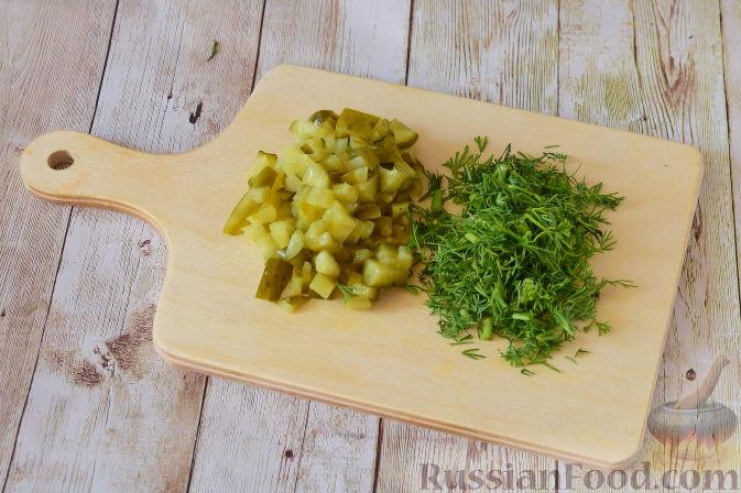 Фото приготовления рецепта: Закуска из картофеля и семги - шаг №5