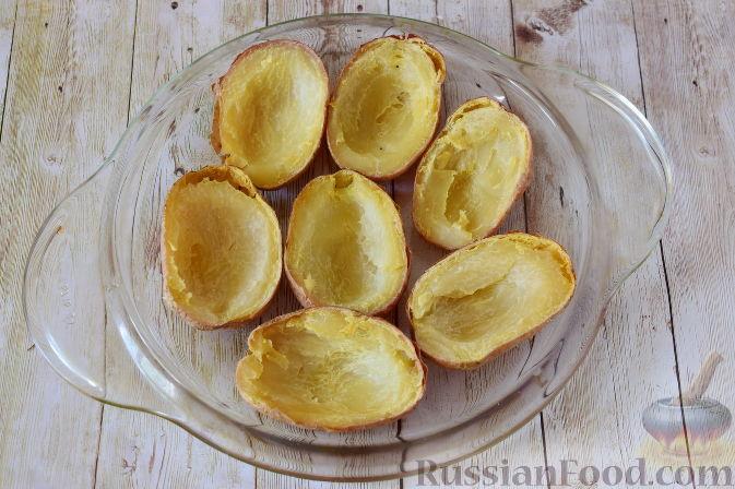 Фото приготовления рецепта: Закуска из картофеля и семги - шаг №7