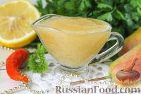 Фото к рецепту: Грушевый соус