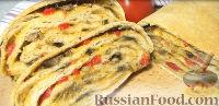 Фото к рецепту: Хлеб  с начинкой