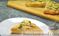 Фото к рецепту: Быстрая пицца на сковороде