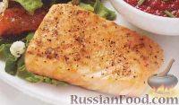 Фото к рецепту: Запеченный лосось со специями