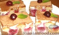 """Фото к рецепту: Миндально-шоколадный торт-пирог """"Белоснежка"""""""