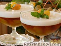 Фото к рецепту: Виноградно-йогуртовое желе