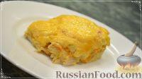 Фото к рецепту: Сочное куриное филе с овощами (в духовке)
