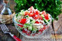 Фото к рецепту: Салат с цветной капустой