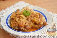 Фото к рецепту: Перкельт из свиных ножек (körömpörkölt-кёрёмперкельт)