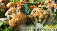 Фото к рецепту: Цветная капуста в нежном кляре
