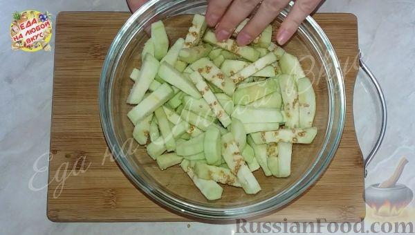 Фото приготовления рецепта: Овощной салат «Осенний» (на зиму) - шаг №2