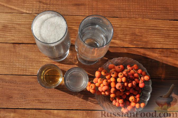 Фото приготовления рецепта: Рябиновое варенье - шаг №1