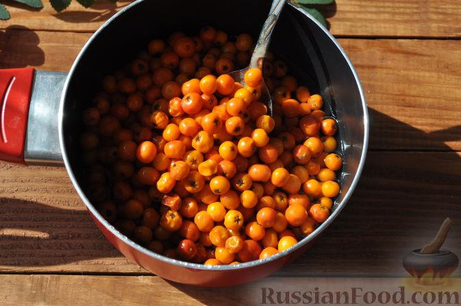Фото приготовления рецепта: Рябиновое варенье - шаг №8