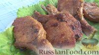 Фото к рецепту: Свиная корейка с луком (в казане)