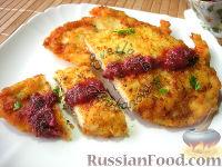 Фото к рецепту: Отбивные из куриного филе