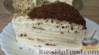 Фото к рецепту: Творожный торт (на сковороде)