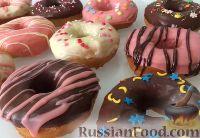 Фото к рецепту: Пончики (донатсы)