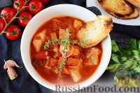 Фото к рецепту: Рыбный суп по-итальянски