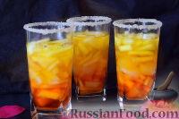 Фото к рецепту: Разноцветное желе с дыней