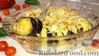 Фото к рецепту: Запеканка из картофеля и баклажанов (в духовке)