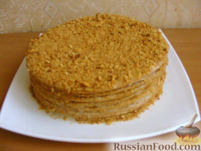 торт медовик класический рецепт