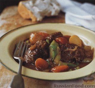 Рецепт Овощное рагу с говядиной