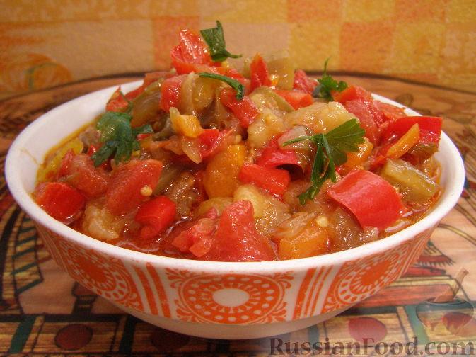 баклажаны говядина рецепт с фото рагу #11