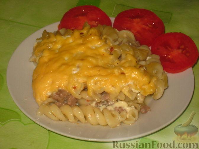 Рецепт Запеканка с макаронами и мясом