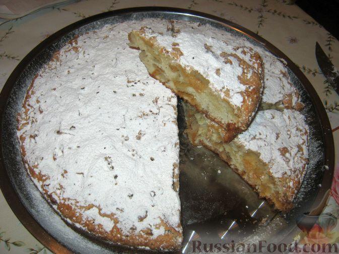 Рецепт Простой пирог с яблоками