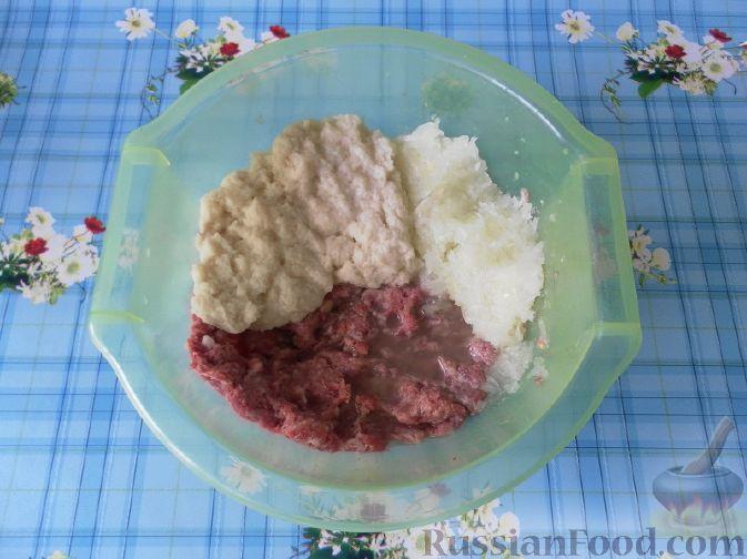 Фото приготовления рецепта: Сырный суп - шаг №4