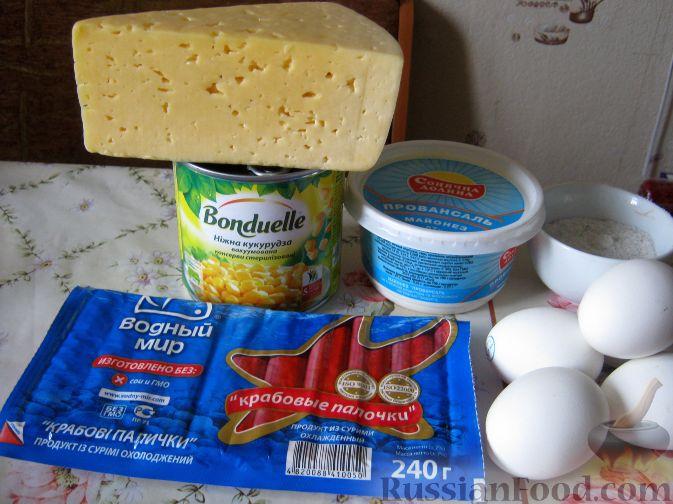 классический рецепт салата крабовые палочки