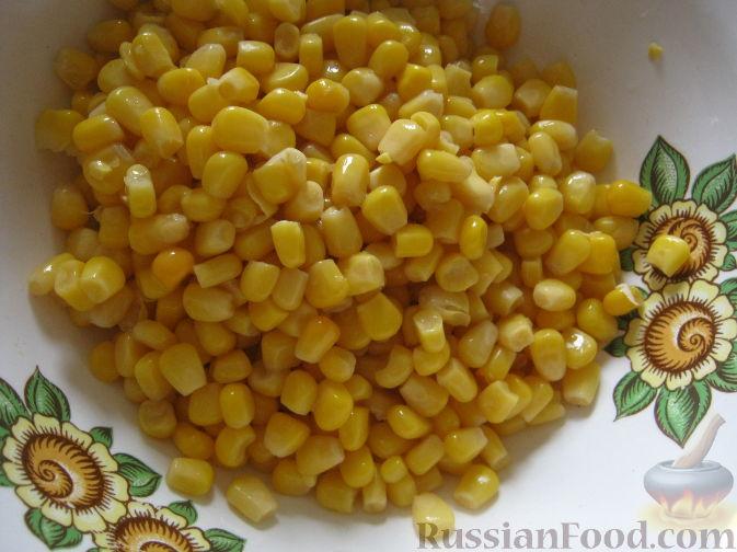 рецепт приготовления салата из крабовых палочек
