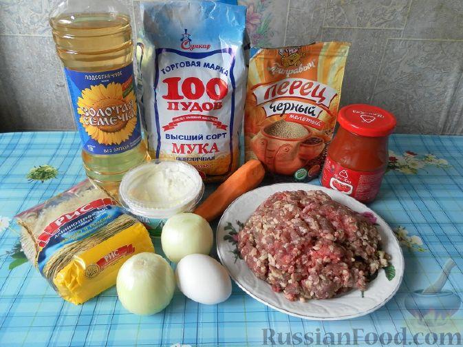 классический рецепт тефтелей с рисом