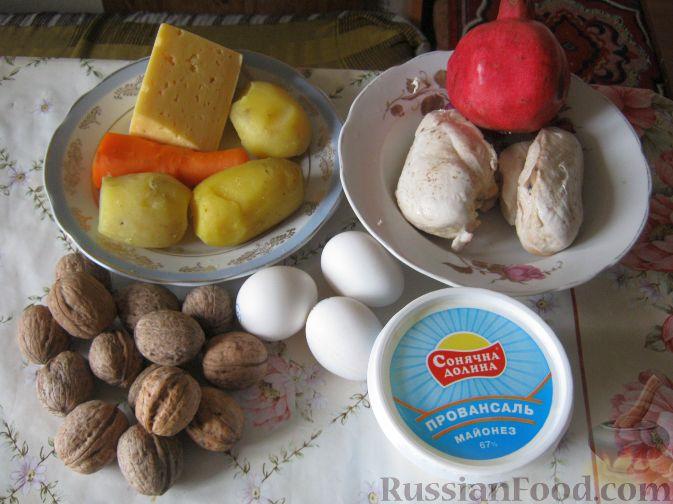 салат шапка мономаха рецепт классический пошаговый рецепт