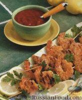 Фото к рецепту: Креветки в панировке