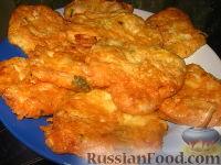 Фото к рецепту: Куриные оладушки