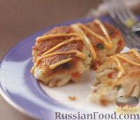 Фото к рецепту: Котлеты из крабового мяса