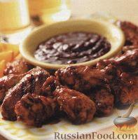 Фото к рецепту: Куриные крылышки, приготовленные на гриле