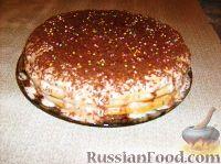 Фото к рецепту: Манковый тортик