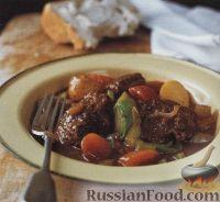Фото к рецепту: Овощное рагу с говядиной
