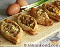 Фото к рецепту: Ленивые расстегаи с мясом