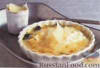 Фото к рецепту: Яйца пашот со шпинатом под сырным соусом