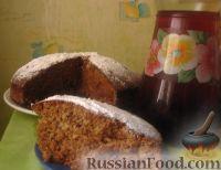 Фото к рецепту: Постный пирог с чаем