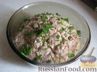 Фото к рецепту: Салат их рыбных консервов