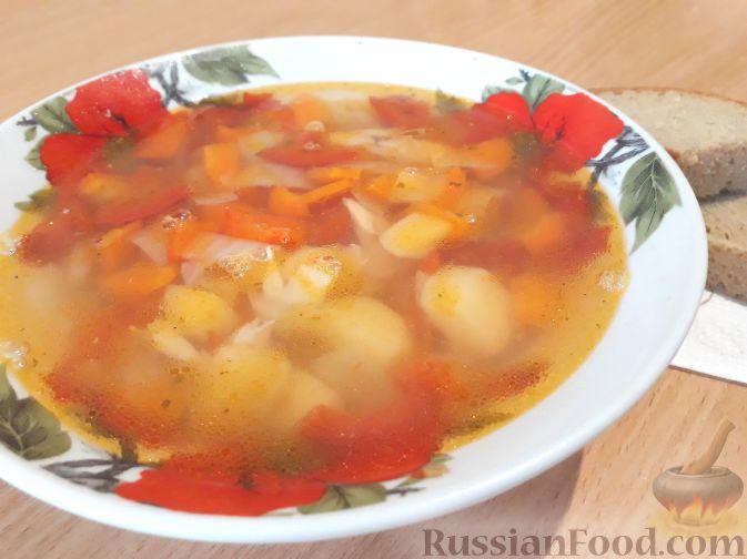 суп лагман с баклажаном рецепт с фото пошагово